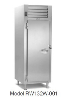 Traulsen RW132W-COR02 Correctional 24.2-cu ft Reach-In Heated Cabinet w/ Full Door, 208/115 V