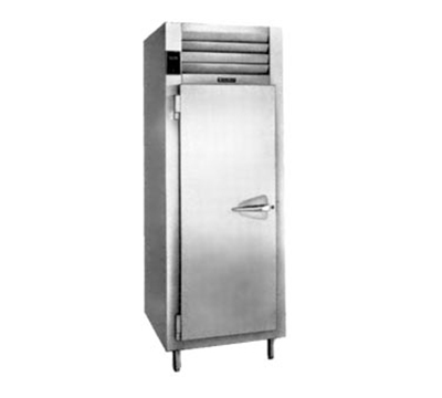 Traulsen AHT126WPUT-FHS 220 1-Section Pass-Thru Refrigerator w/ Full Solid Door, Shlw Depth, Export
