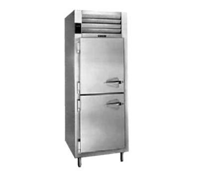 Traulsen AHT126WP-HHS 220 1-Section Pass-Thru Remote Refrigerator w/ Half Solid Door, Export