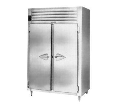 Traulsen AHT232NPUT-FHS 115 2-Section Pass-Thru Refrigerator w/ Narrow Full Solid Door, 115 V