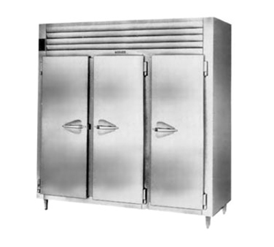 Traulsen AHT332WUT-FHS 115 3-Section Reach-In Refrigerator w/ Wide Full Solid Doors, 115/1 V