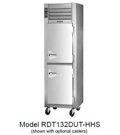 Traulsen RDT232D-FHS 115 48-in Remote Reach-In Dual Temp Refrigerator Freezer w/ Full Door, 115 V