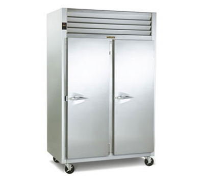 Traulsen G24312 Reach-In 2-Section Hot Holding Cabinet w/ Full Solid, Right, 208/115/1 V