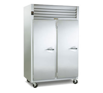 Traulsen G22013R 2-Section Reach In Freezer w/ Full Doors & Hinged Left To Left, 3-Shelves