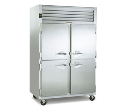 Traulsen G22000 2-Section Reach-In Freezer w/ Half Doors, Hinge Left, 115/1 V