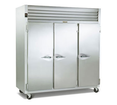 Traulsen G31310 3-Section Reach-In Freezer w/ Full Solid Doors, 208-230/115 V
