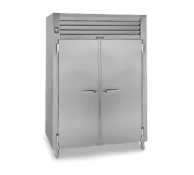 Traulsen AHF232W-FHS 208 2-Section Reach-In Heated Cabinet w/ Full Solid Door, 208/115/1 V