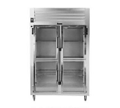 Traulsen AHT226WUT-HHG 115 2-Section Reach-In Refrigerator w/