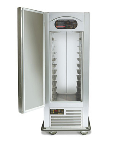 Traulsen RAC37-9 1-Section Full Door Refrigerator w/ Air Curtain, Hinge Left, Lock, 115 V
