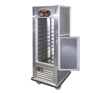 Traulsen RAC37-7 1-Section Half Glass Door Refrigerator w/ Air Curtain, Right, Bumper, 115 V
