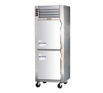 Traulsen RDT132W-HHS 220 1-Section Remote Dual Temp Reach-In Refrigerator Freezer, Export