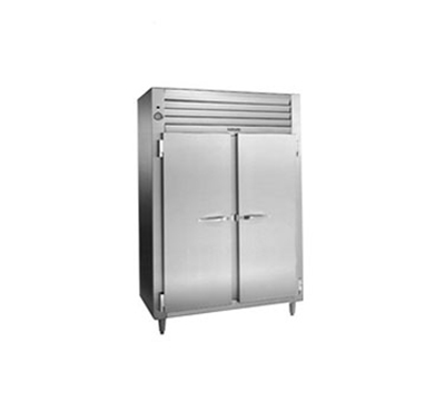 """Traulsen RET232NUT-FHS 52"""" Two Section Reach-In Refrigerator, (2) Solid Door, 115v"""