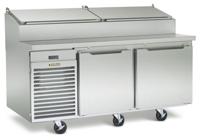 Traulsen TS072HT 220 72-in Reach-In Refrigerated Prep Table w/ Insulated Lid, Export