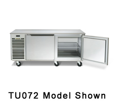 Traulsen TU072HT 115 20-cu ft Undercounter Refrigerator w/ 2-Sections, 115 V