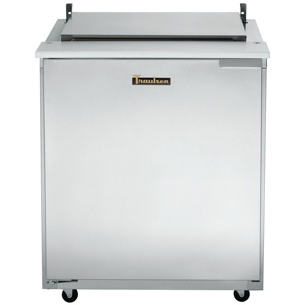 Traulsen UST6024-LL-SB 60-in Prep Table Refrigerator w/ Stainless Back, 24-Pan, Left-Left Hinge