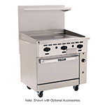 "Vulcan-Hart 36C-36G 36"" Gas Range with Griddle, NG"