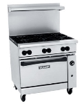 Vulcan-Hart 36C-6B NG 36 in Endurance Restaurant Range, 6 Burners, Convection Oven, NG
