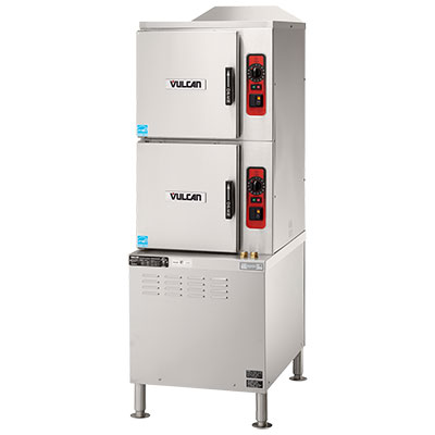 Vulcan-Hart C24EA10-DLX 2401 Convection Steamer w/ Superheated Steam, Timed Drain, 240/1 V