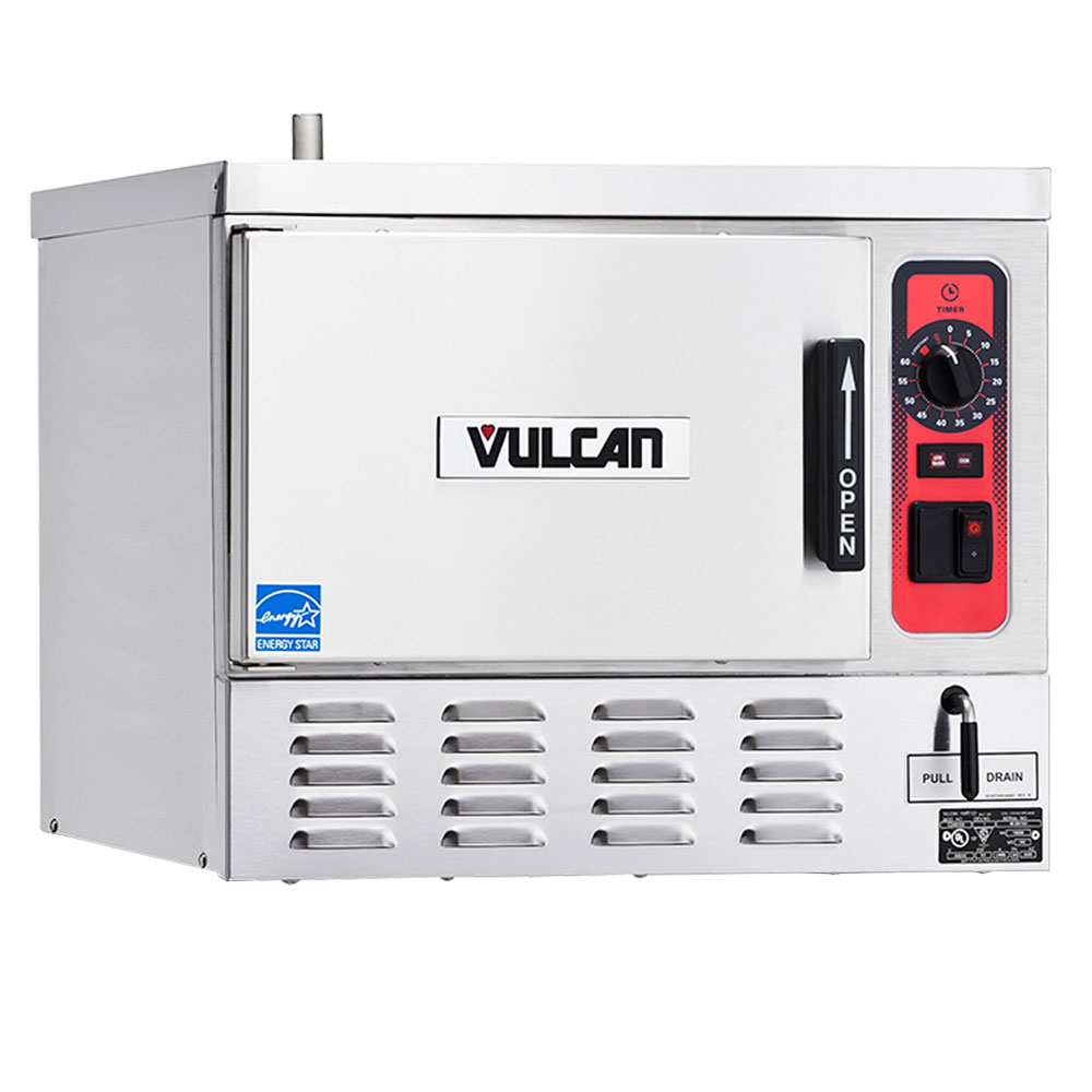 Vulcan-Hart C24EO5-2 Countertop Constant Steamer w/ 5-Pan Capacity & Manual Control, 240/3 V