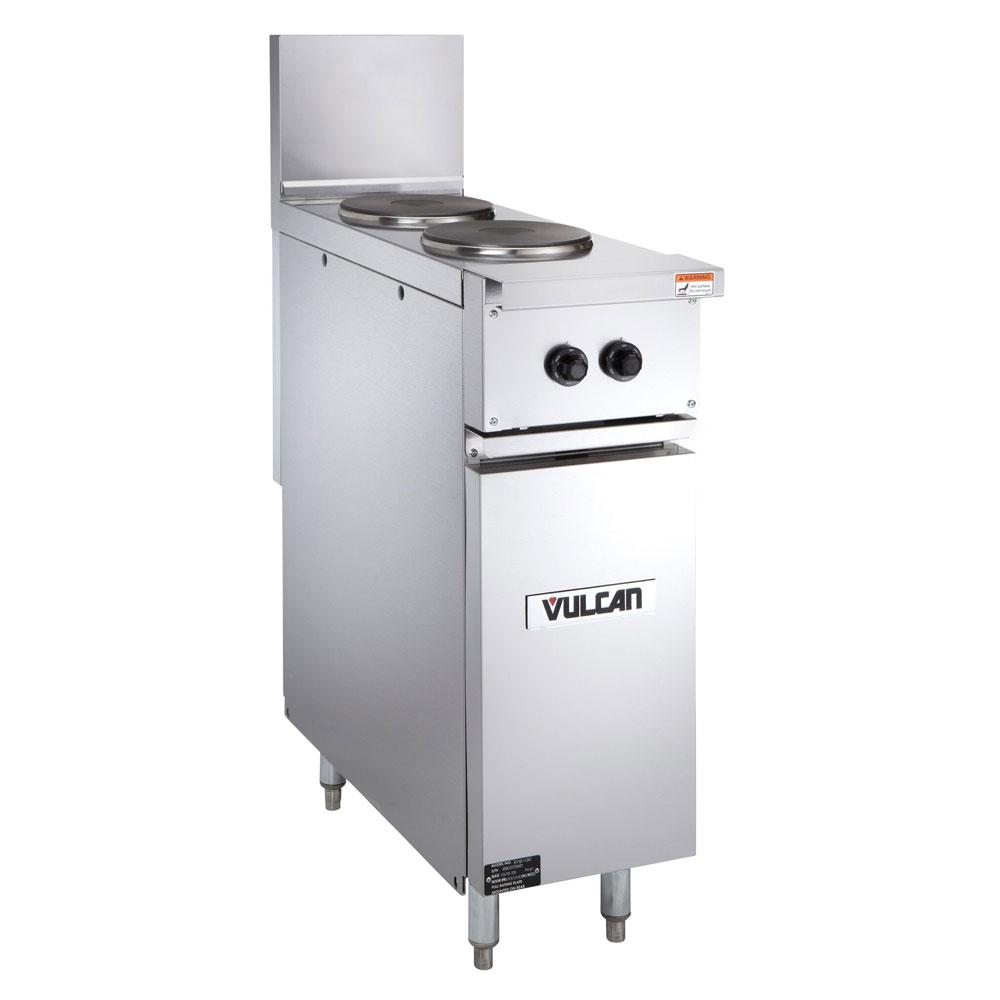 """Vulcan-Hart EV12-2FP-480 1 12"""" 2-Sealed Element Electric Range, 480/1v"""
