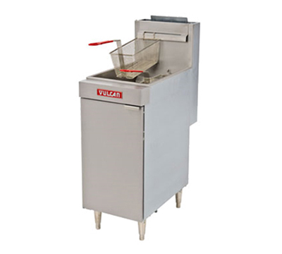 Vulcan-Hart LG400 LP Gas Fryer - (1) 50-lb Vat, Floor Model, LP