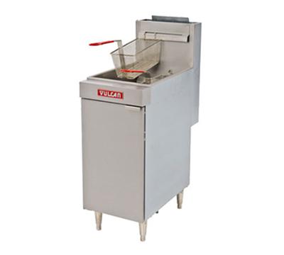 Vulcan-Hart LG500 NG Gas Fryer - (2) 70-lb Vat, Floor Model, NG
