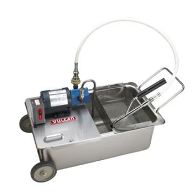 Vulcan-Hart MF-1 110-lb Commercial Fryer Filter, Suction, 120v