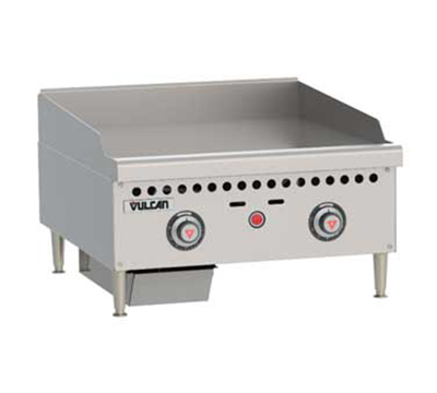Vulcan-Hart VCRG24TLP 24-in Griddle, Counter Model w/ Mechanical Snap Action Thermostat, LP