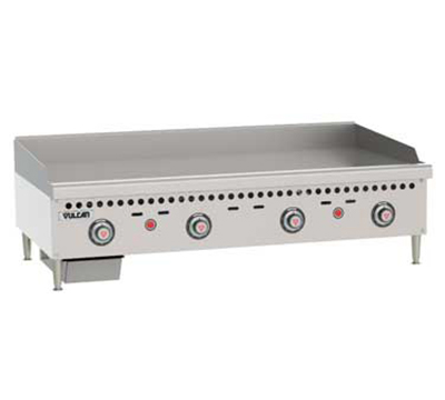 Vulcan-Hart VCRG48TLP 48-in Griddle, Counter Model w/ Mechanical Snap Action Thermostat, LP