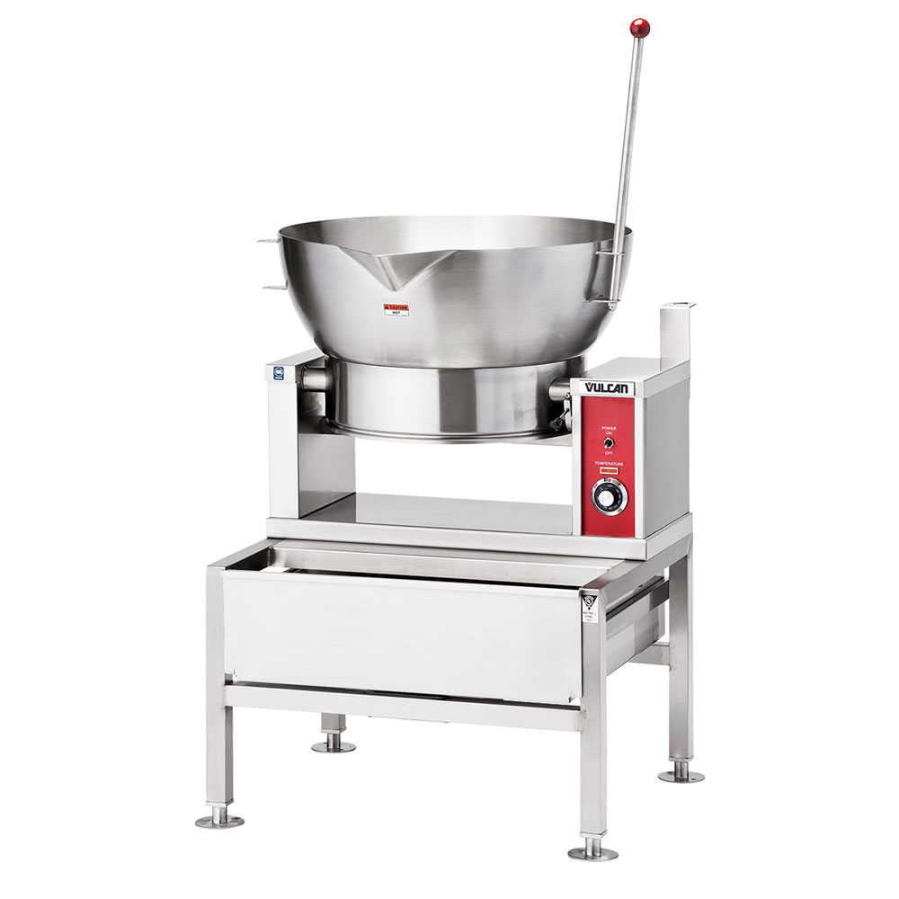 Vulcan-Hart VGCTS16 NG Countertop Braising Pan w/ 16-Gallon Capacity, Pour Lip, NG