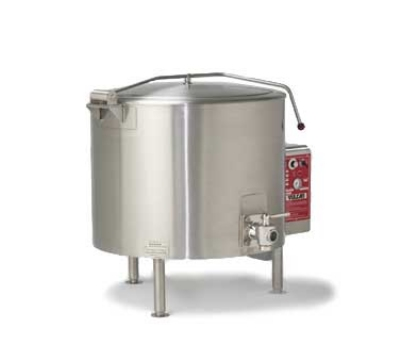 Vulcan-Hart ET125 2403 125-Gallon Stationary Kettle w/ Spring-Assisted Cover, 240/3 V