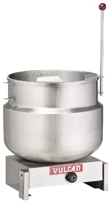 Vulcan-Hart K12DTT Tilting Kettle w/ 12-Gallon True Working Capacity, Manual Tilt