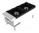 Vulcan-Hart VCRH12NG 12-in Hotplate, 2-Open Burners w/ Lift-Off Burner Heads, NG