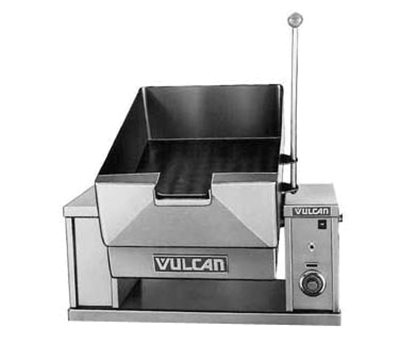 Vulcan-Hart VECTS12 2403 Countertop Braising Pan w/ 12-Gallon Capacity, Pour Lip, 240/3 V