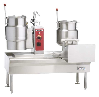 Vulcan-Hart VKT26/6 26-in Kettle Assemble w/ 1-Kettle, Direct Steam, 6-Gallon Capacity