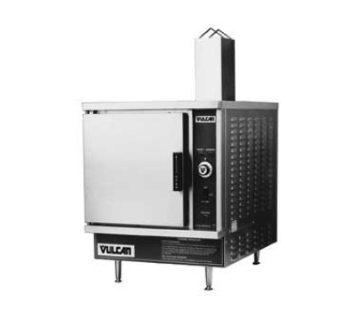 Vulcan-Hart VSX5GLP Countertop Convection Steamer w/ Timed Drain, Manual, LP