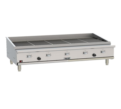 Vulcan-Hart VTEC60 NG 58-1/2-in Countertop Charbroiler w/ Conversion Burner, NG