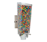 Rosseto Serving Solutions EZ501 1-gal Wall-Mount Candy Dispenser - Clear