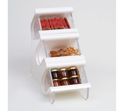 Rosseto Serving Solutions EZO708 Countertop Condiment Caddy - (3)C