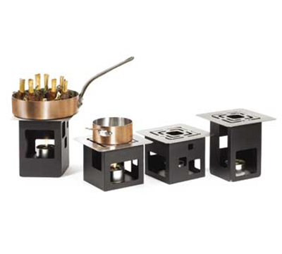 Rosseto Serving Solutions SK019 14-Piece Square Warmer Kit - Black