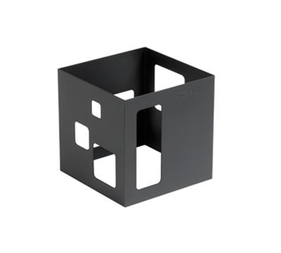"Rosseto Serving Solutions SM115 7"" Cube Display Riser - Black"