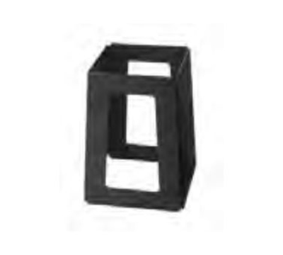 "Rosseto Serving Solutions SM175 7"" Pyramid Riser - Black"