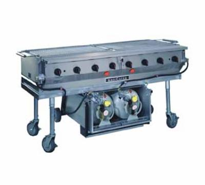Magikitch'n LPAGA-60 60-in Magicater Transportable Gas Grill, Heavy Duty Version, LP
