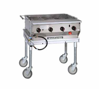 Magikitch'n LPG-30-SS LP 30-in Modular Radiant Transportable Stainless Grill, LP