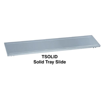 Duke ASOLID-FX-3 46-in Tray Slide for 3-Well Unit w/ Fixed Brackets