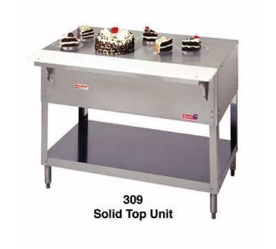 Duke 309 44-3/8-in Solid Top Steamtable w