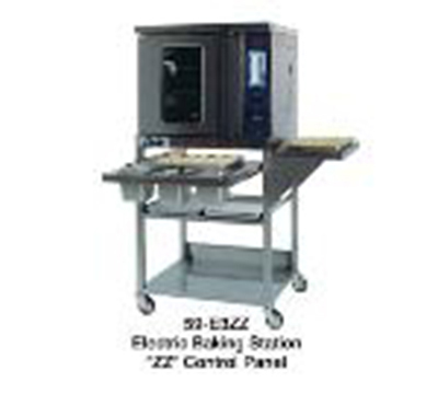 Duke 59-E3XX/59-BS 2081 Half-Size Convection Oven - Base Stand, Single Deck, Solid-State 208/60/1v