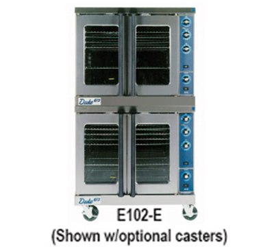 Duke E102-E Double Full Size Electric Convection Oven - 240/1v