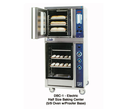 Duke 59-E3ZZ/PFB-1 2083 Half-Size Convection Oven - Proofer Base, Single Deck, Digital 208/60/3v