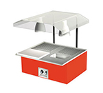 Duke TAH-2-BC 120 30-3/8-in Table Top Beef Unit w/ Au Jus & Spillage Pan, Carving Board, 120 V